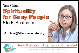 New Class: Spirituality for Busy People