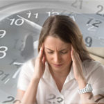 time pressure being experienced by woman